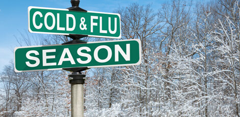 Supporting yourself during cold and flu season
